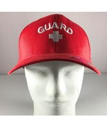 Yupoong FlexFit Hat Mens Red 'Guard' Cap Size L / XL - $29.95