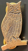 Vintage Empire Pewter Owl Pin - Free Combined S/H - $7.25