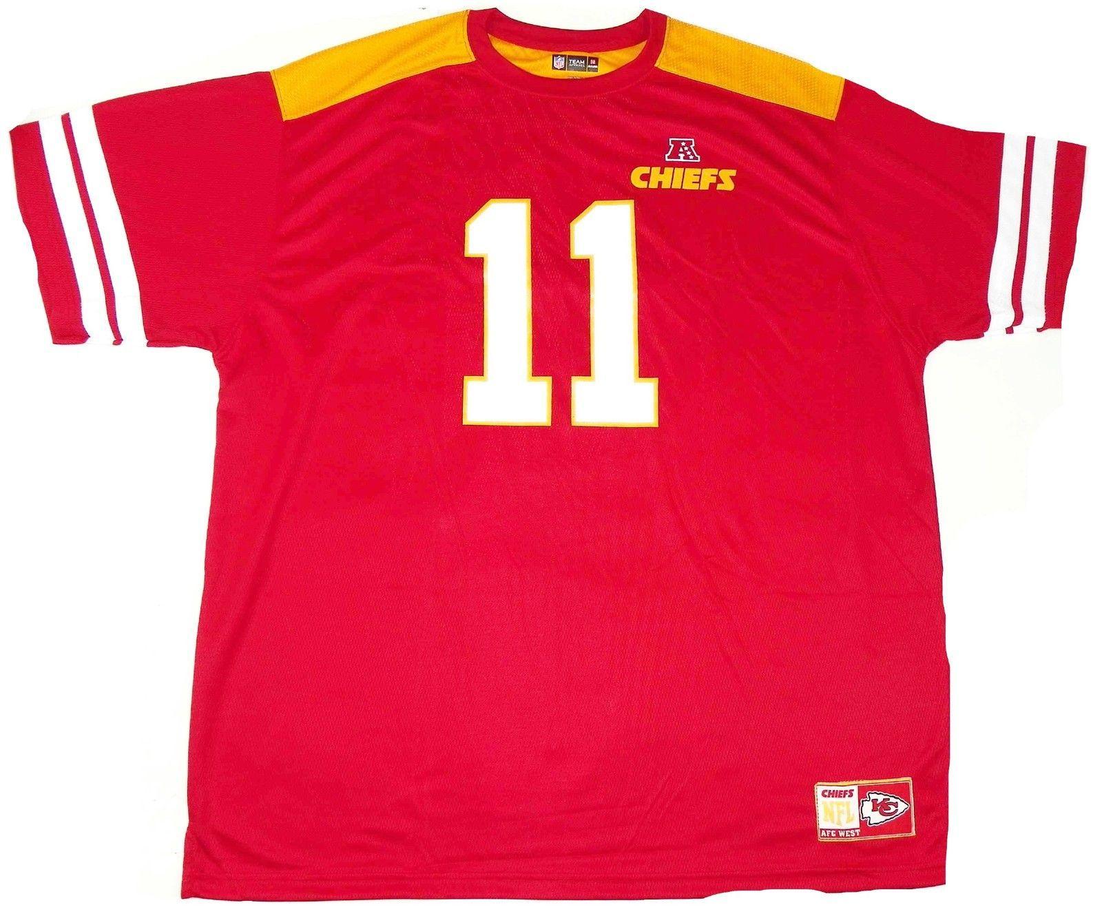 Alex Smith Shirt Men's Kansas City Chiefs NFL Hashmark JerseyTee