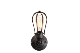 New Retro Wall Lamp Vintage Industrial Cage Light Wall Sconce - $1.294,93 MXN