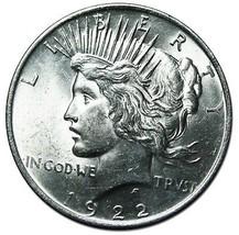 1922 Peace Silver Dollar Coin Lot # EA 281