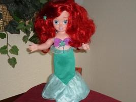 "Disney Little Mermaid 15"" Princess Ariel Toddler Doll - $10.99"