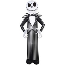 Nightmare Before Christmas Light Up Jack Skellington Airblown Inflatable - $94.77 CAD