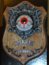 Halloween Haunted House Animated Talking Eyeball Doorbell - €26,50 EUR