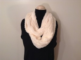 Fashion long  infinity faux fur scarf warm cozy choice of color solids