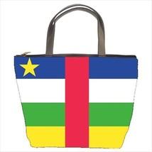 Central Africa Republic Flag Bucket Bag - $29.59