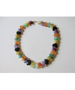 "Retro / Vintage Avon ""Polished Spectrum"" Colorful Necklace - 1986 - $10.99"