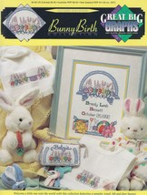 Bunny Birth Collection, Great Big Graphs Cross Stitch Pattern Booklet VL... - $3.95