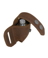 New Barsony Brown Leather Revolver Speed Loader Pouch .22 .38 .357 - $27.99