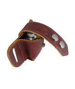 New Barsony Burgundy Leather Revolver Speed Loader Pouch .22 .38 .357 - $27.99