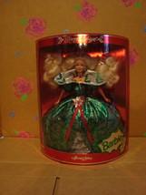 1995 Happy Holidays Holiday Barbie NRFB by Mattel - $50.00