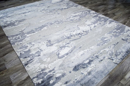 """5x8 (5'6"""" x 7'5"""") Nourison Divine Hand Knotted Modern Contemporary Area Rug - $2,199.00"""