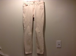 Used Great Condition Gap 28 Regular Cotton Blend True Skinny Pale Pink Pants - $59.39