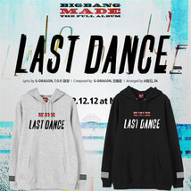 KPOP Bigbang Made The Full Cap Hoodie Sweater G-Dragon Sweatershirt Unis... - $13.27