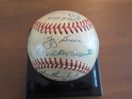 1961 NEW YORK YANKEES WS CHAMPS TEAM SIGNED CRONIN ERA 25 AUTO BASEBALL ... - $1,187.99