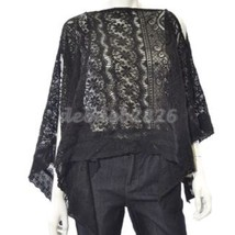 Collection Eighteen Crochet Scarf Top OSFA - $12.46
