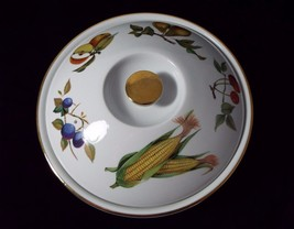 """Royal Worcester Evesham Gold 10"""" Round Casserole Entree Dish with Flat H... - $59.99"""