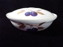 """Royal Worcester Evesham Gold Porcelain 10"""" Casserole Entree Dish NO Hand... - $59.99"""