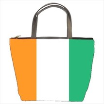 Ivory Coast Cote Flag Bucket Bag - ₨2,021.54 INR