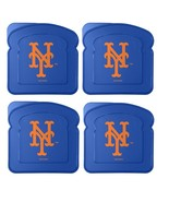 MLB New York Mets 4-Pack Sandwich Container  - $19.95