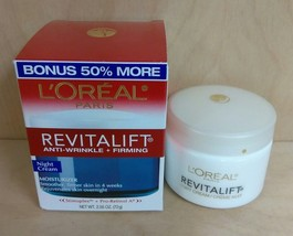 Loreal Revitalift Anti Wrinkle/Firming Night Cr... - $12.86