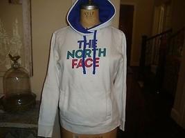 The North Face White Hooded Sweatshirt Hoodie M  - $23.70