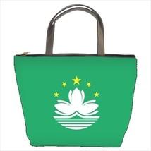 Macau Flag Bucket Bag - $29.52