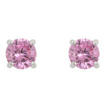 Pink Cubic Zirconia Stud Earrings - $15.29