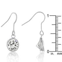 Bezel Solitaire Stud Earrings - $10.79