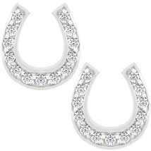 Horseshoe Stud Earrings - $24.29