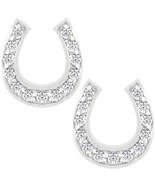 Horseshoe Stud Earrings - $24.29
