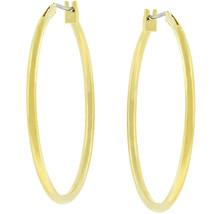 Basic Golden Hoop Earrings - $8.99