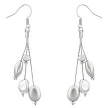 Beaded Dangle Drop Earrings - $8.09