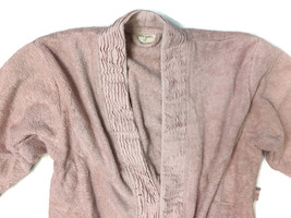 Nine Space Pink Pleated Bathrobe, L/XL - COMFY  - $28.98
