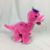 BABW Build a Bear Dino Pink Apatosaurus Dinosaur on all 4's Plush Stuffe... - $16.82