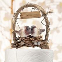 Love Nest in Archway Birds Cake Topper Wedding Reception Gift Romantic C... - $38.58+