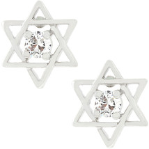 Star of David Stud Earrings - $12.59