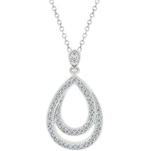 Evening Teardrop Pendant - $25.19