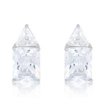 Classic Cubic Zirconia Sterling Silver Stud Earrings - $32.39