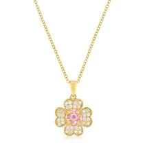Goldtone Lucky Clover Pendant - $21.59