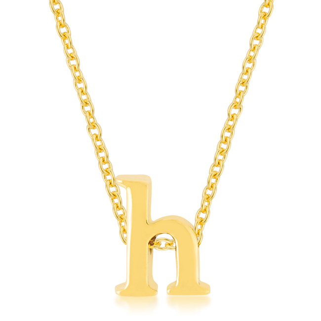 Primary image for Golden Initial H Pendant