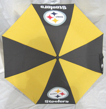 NFL NWT TRAVEL UMBRELLA - PITTSBURGH STEELERS - €20,34 EUR