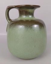 "Vintage Frankoma Pottery 883 Praire Green 6"" Honey Pitcher Jug NO Cork - $34.29"
