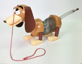 DISNEY'S TOY STORY SLINKY DOG PULL TOY USED - $23.72