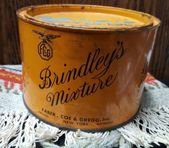 Vintage Brindley's Mixture Pipe Tobacco Tin - $15.83