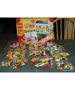 LEGO - CREATIVE SUITCASE - #10682 - 1000 PCS - BRICKS AND MORE - GREAT G... - $76.38