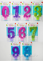"Large Glitter Numeral Number Birthday Cake Candle Topper 5"" - €5,94 EUR"