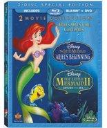 The Little Mermaid II and Ariel's Beginning Dis... - $31.87