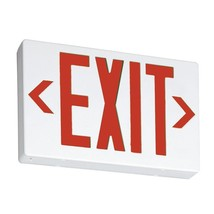 Lithonia Lighting Thermoplastic LED Emergency Exit Sign, EXR LED EL M6, ... - $43.99