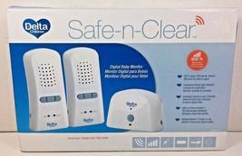 DELTA Safe-N-Clear Digital Baby Monitor 800 Foot Range - $34.91
